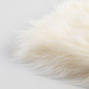 Lambskin Fur yoga seat pillow cushion Yogi Bhajan
